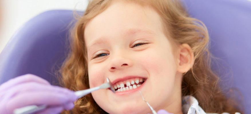 Οδοντιατρική εξέταση παιδιών
